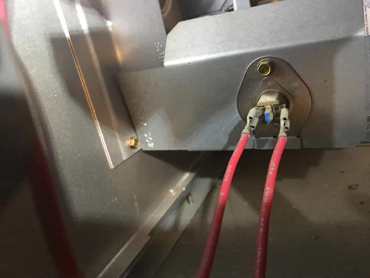 Rollout Switch with Reset Button in Fort Worth HVAC System